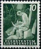 Liechtenstein 1951 Farm Labor b