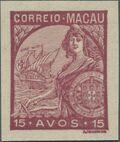 Macao 1934 Padrões ma