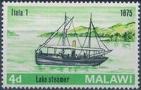 Malawi 1967 Steamers on Lake Malawi a