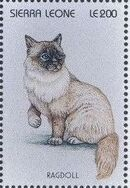 Sierra Leone 1996 Cats of the World zb