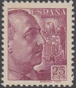Spain 1939 General Franco - 1st Group b