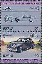 Tuvalu 1985 Leaders of the World - Auto 100 (2nd Group) c