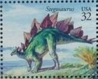 United States of America 1997 The World of Dinosaurs f