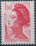 France 1982 Liberty after Delacroix (1st Issue) j