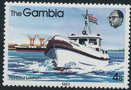 Gambia 1983 River Boats d