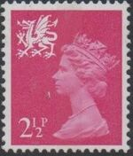 Great Britain - Wales & Monmouthshire 1971 Machins a
