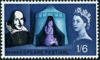 Great Britain 1964 400th Anniversary of the Birth of William Shakespeare d