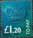 Great Britain 1994 Postage Due Stamps h