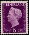 Netherlands 1947 Queen Wilhelmina - Type Hartz c