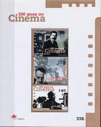 Portugal 1996 Centenary of Portuguese Cinema SSb