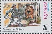 "Spain 1998 Scenes from ""Don Quixote"" p"