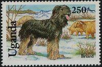 Uganda 1993 Dogs d