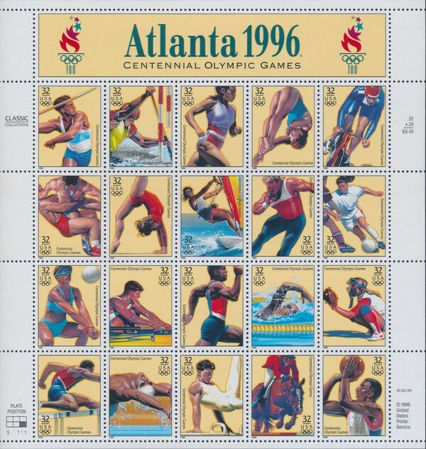United States of America 1996 Summer Olympic Games Sa