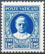 Vatican City 1929 Conciliation Issue i