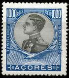 Azores 1910 D. Manuel II n