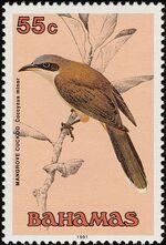 Bahamas 1991 Birds j