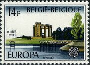 Belgium 1977 Europa b
