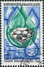 France 1969 European Water Charter a