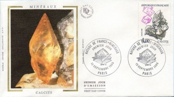 France 1986 Minerals FDCc