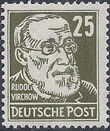 Germany DDR 1952 Famous People h