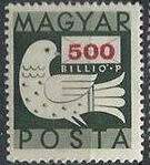 Hungary 1946 Dove and Letter i