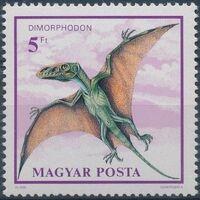 Hungary 1990 Prehistoric Animals d