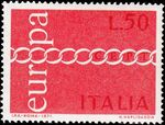Italy 1971 Europa-CEPT a