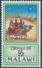 Malawi 1993 Christmas c