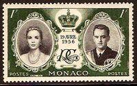 Monaco 1956 Wedding of Prince Rainier III & Grace Kelly a