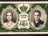 Monaco 1956 Wedding of Prince Rainier III & Grace Kelly