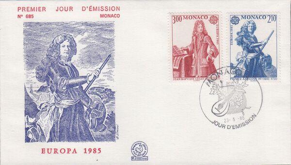 Monaco 1985 EUROPA - Music f