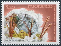 Monaco 1990 Mercantour National Park - Micro-Minerals c