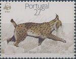 Portugal 1988 WWF Iberian Lynx (Lynx pardina) b