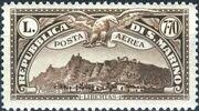 San Marino 1931 Air Post Stamps h