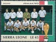 Sierra Leone 1990 Football World Cup in Italy r