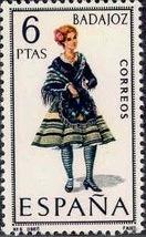 Spain 1967 Regional Costumes Issue f