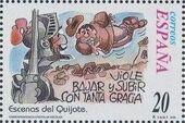 "Spain 1998 Scenes from ""Don Quixote"" i"