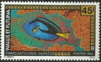 Wallis and Futuna 1993 Fishes c