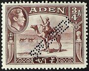 Aden 1939 Scenes - Definitives bs