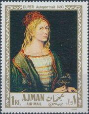 Ajman 1968 Paintings a