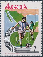 Angola 1986 World Cup - Mexico 86 d