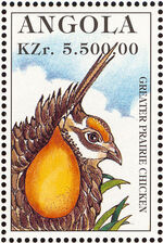 Angola 1996 Hunting Birds b