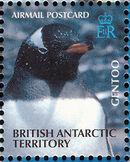 British Antarctic Territory 2003 Penguins of the Antarctic c
