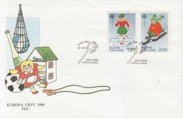 Finland 1989 EUROPA FDCa