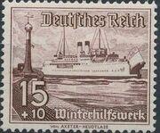 Germany-Third Reich 1937 Winter's Fund - Ships g