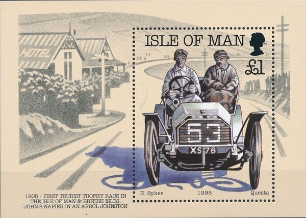 Isle of Man 1995 90th Anniversary of British Motor Car Racing j
