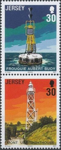 Jersey 2003 Lighthouses and Buoys b