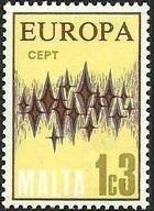 Malta 1972 Europa a