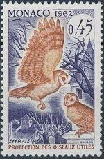 Monaco 1962 Protection of Useful Birds g