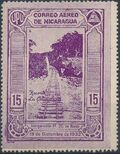 Nicaragua 1932 Inauguration of the Railroad from San Jorge to San Juan del Sur (Airmail) a